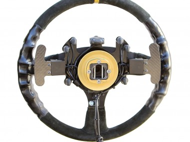 Team Steering Wheels are Designed for the TASK